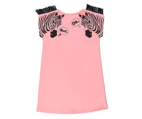 Detské šaty Zebra