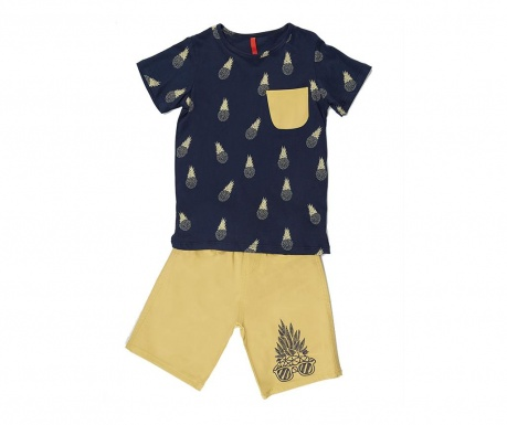 Set tricou si pantaloni pentru copii Pineapple 9 ani