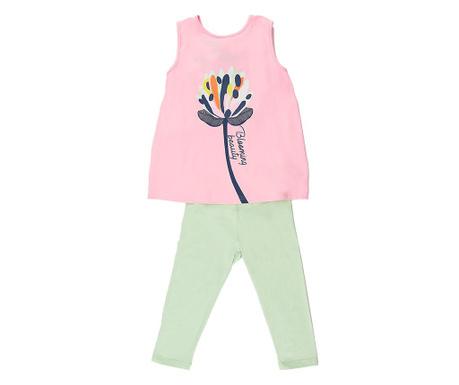 Blooming Beauty Gyerek tunika és leggings
