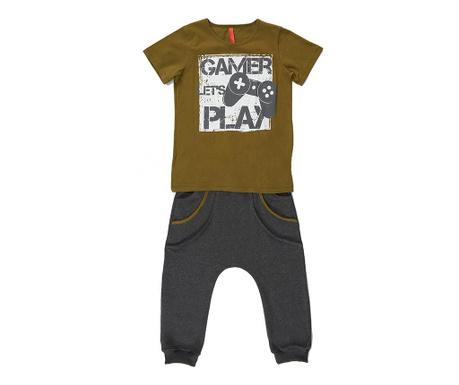 Sada tričko a nohavice pre deti Gamer