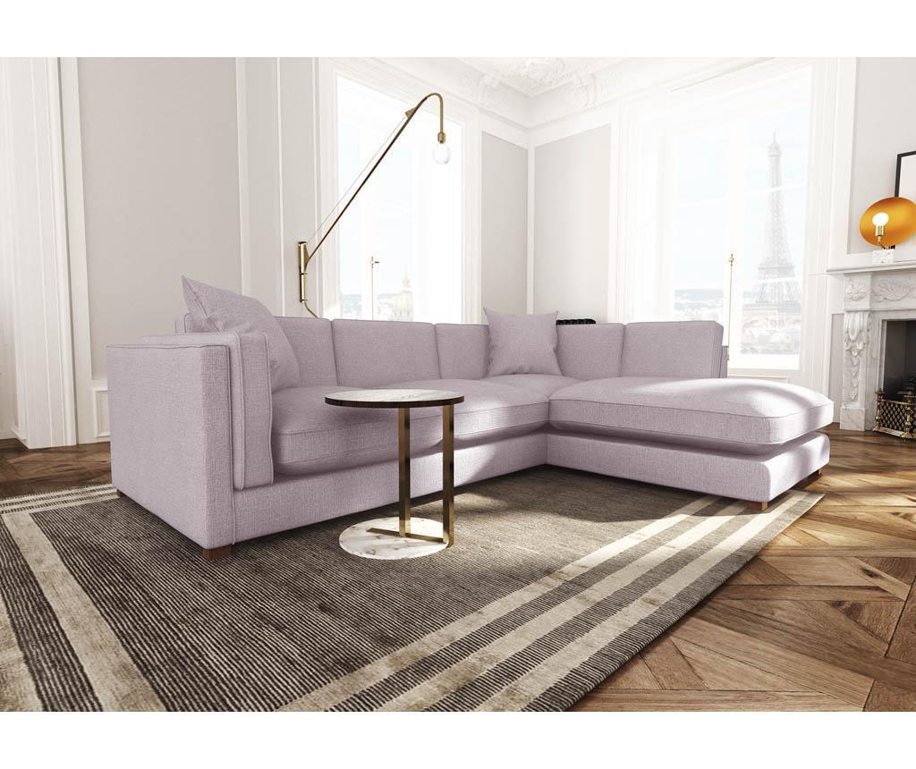 Coltar dreapta Organdi Big Angle Lilac