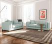 Canapea 2 locuri Organdi Uni Extra Mint Green