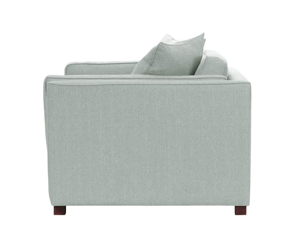 Canapea 3 locuri Organdi Uni Extra Mint Green