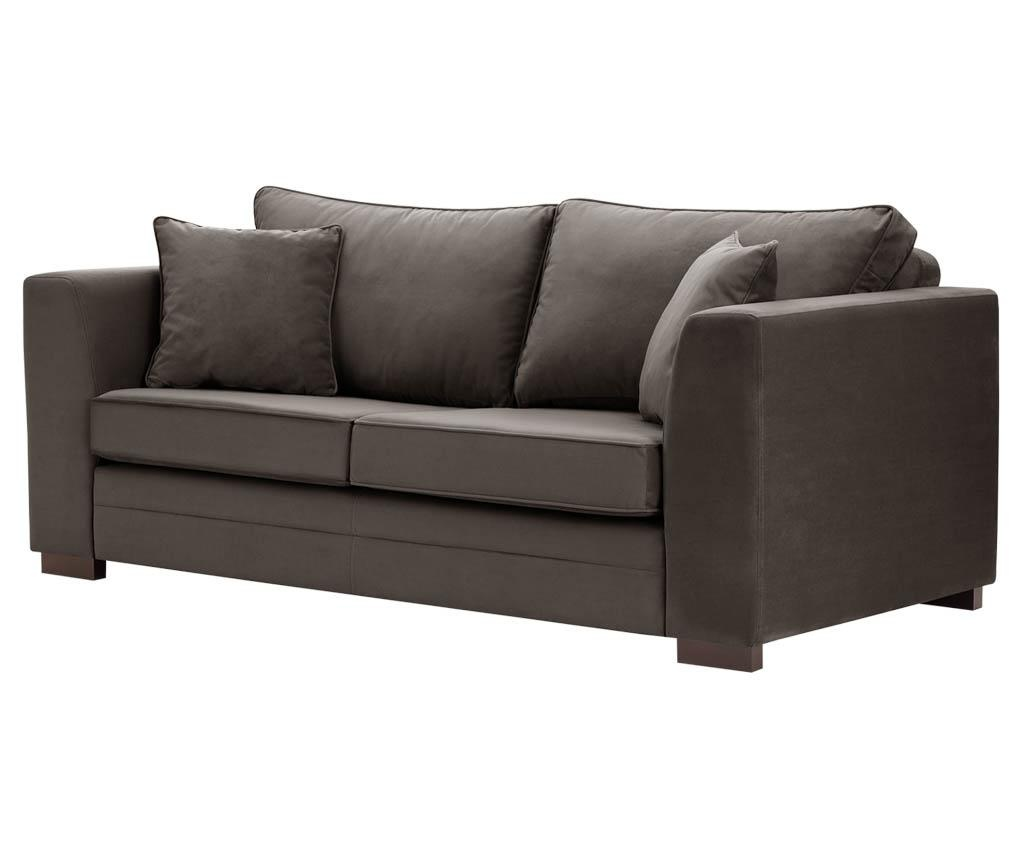 Canapea 3 locuri Taffetas Grey