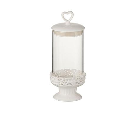 Ceramic Jar Tároló fedővel