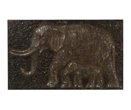 Elephant Metal Kép 62x102 cm