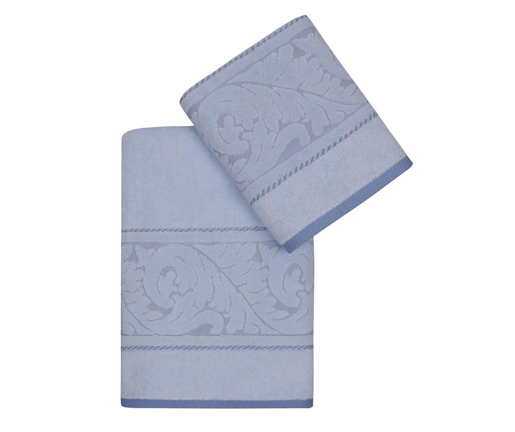 Set 2 kupaonska ručnika Sultan Blue