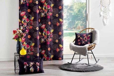 Květinové textílie
