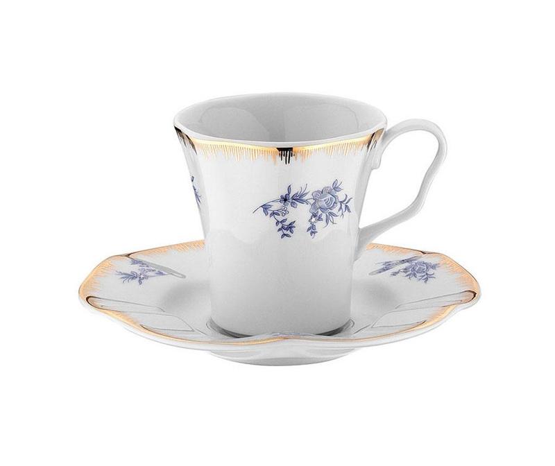 Сервиз 6 чашки и 6 чинийки Coffee Myrna
