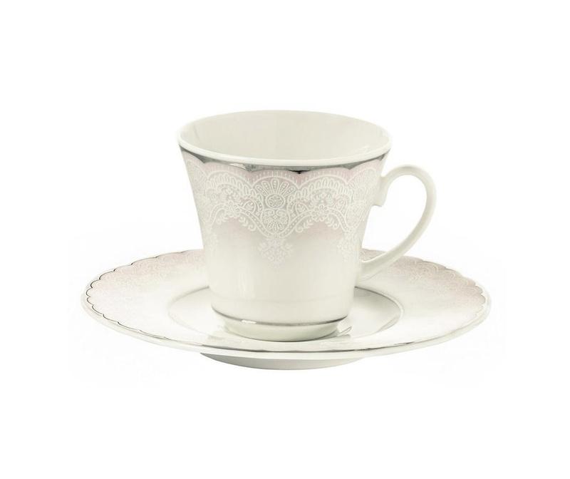 Сервиз 6 чашки и 6 чинийки Coffee Wanda