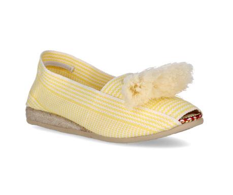 Dámske sandále Frill Yellow