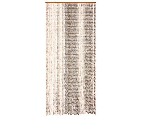 Záclona na dvere Knots 100x220 cm