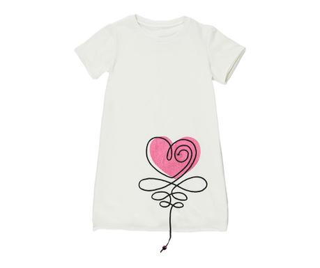 Detské šaty Heart
