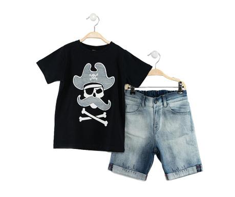 Sada tričko a krátké kalhoty pro děti Pirates Jean