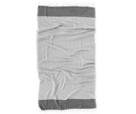 Kupaonski ručnik Pestemal Mia Grey 90x170 cm