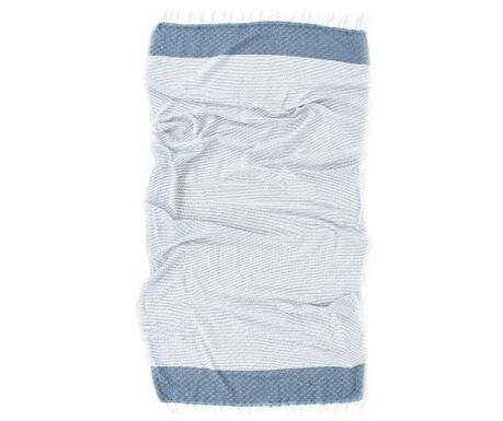 Kupaonski ručnik Pestemal Alaz Blue 90x170 cm