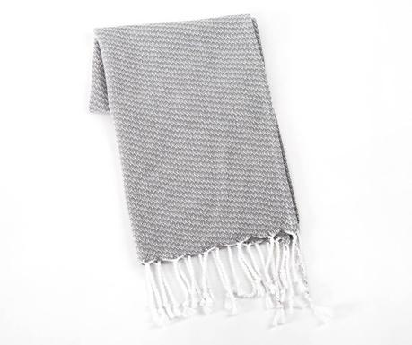 Kopalniška brisača Selen Grey 45x90 cm