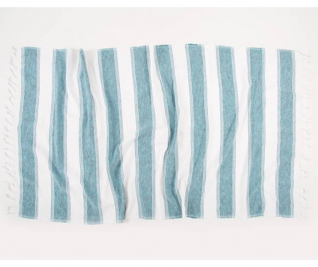 Kupaonski ručnik Pestemal Hazan Turquoise 90x170 cm