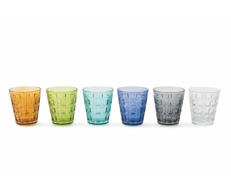 Сервиз 6 чаши за вода Recta 280 мл