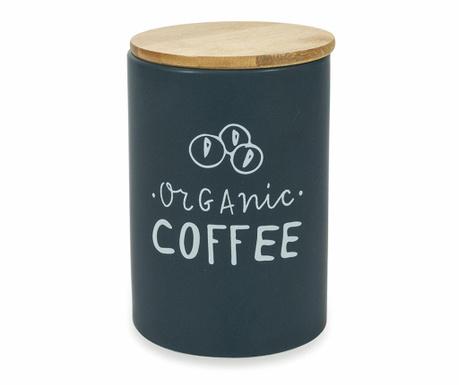 Dóza s hermetickým vekom na kávu Natural