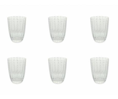 Sada 6 sklenic na vodu Kalahari Clear 300 ml