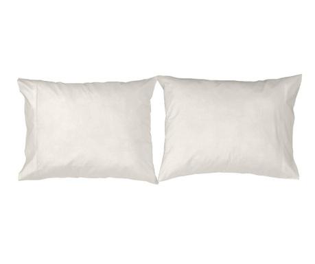 Set 2 fete de perna Casual White 50x80 cm