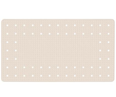 Χαλάκι μπανιέρας Mirasol Beige 39x69 cm
