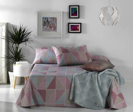 Zestaw na łóżko Double Bridget Pink