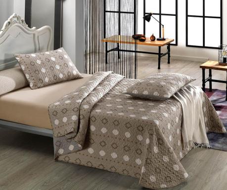 Zestaw na łóżko Double Camila Beige