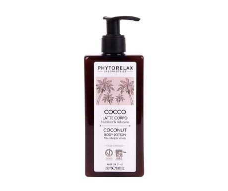 Tělové mléko Phytorelax Coconut 250 ml