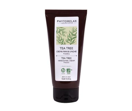 Krém na ruce a nechty Phytorelax Tea Tree 75 ml