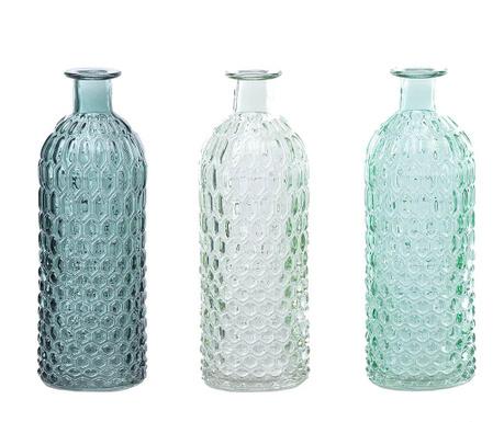 Комплект 3 декоративни бутилки Neptune