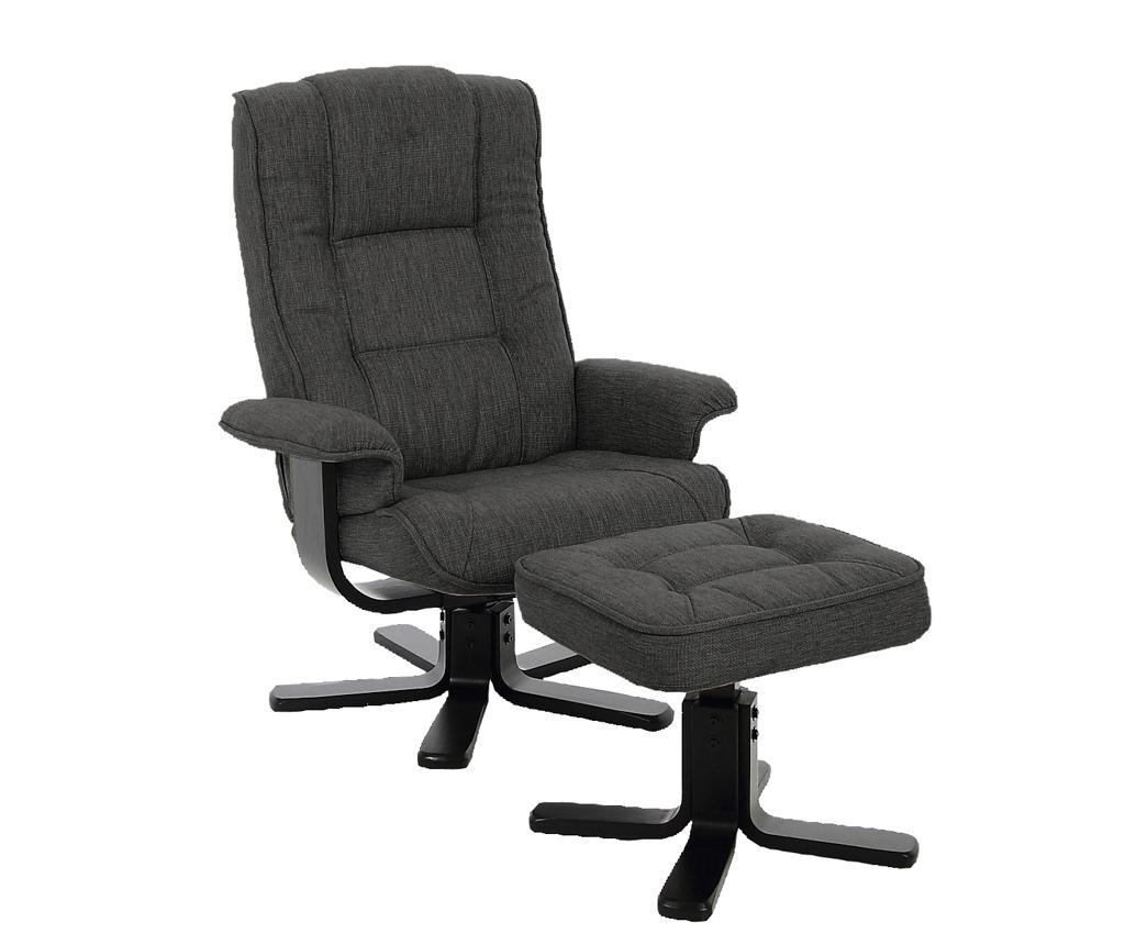 Set stolica s naslonjačem i tabure za noge Limbo