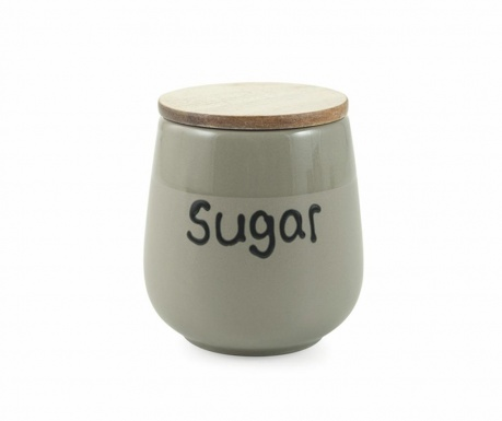 Dóza s hermetickým vekom na cukor Mocaccino