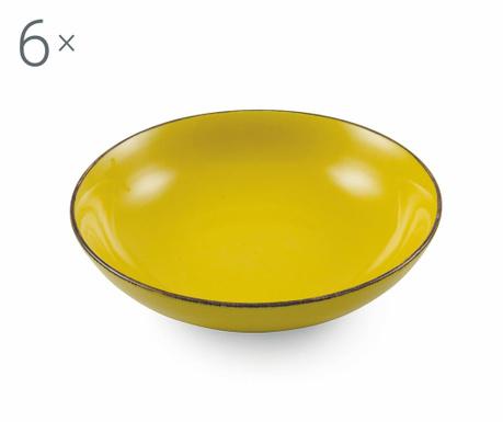 Sada 6 mís Baita Yellow