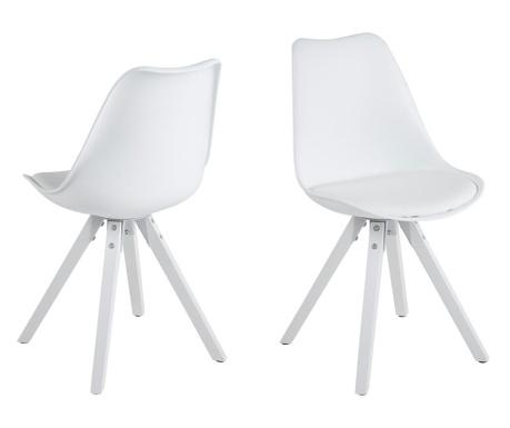 Sada 2 stoličiek Dima Style White