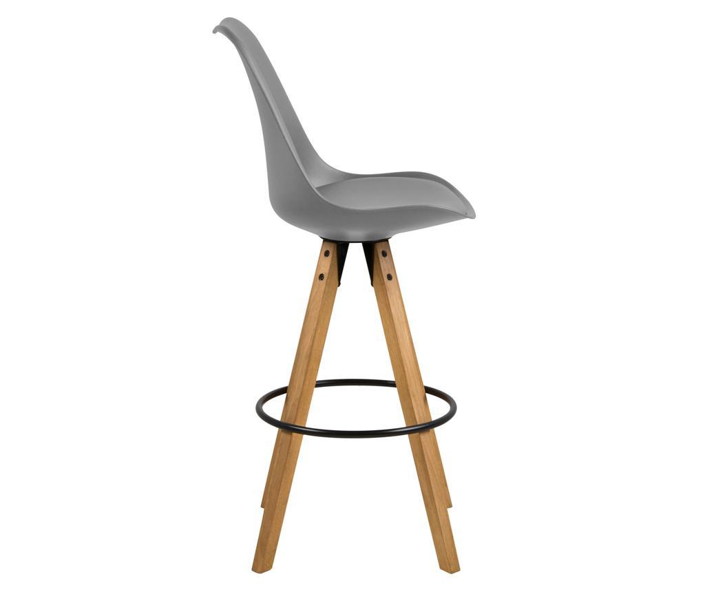 Set 2 barske stolice Dima Grey