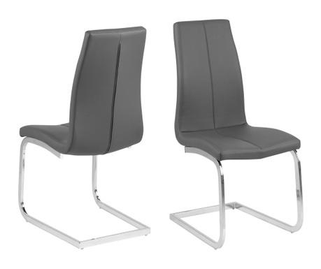 Sada 2 židlí Asama Swing Grey