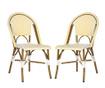 Set 2 stolice za vanjski prostor Adalene Yellows