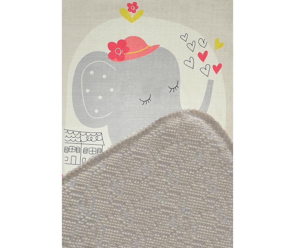 Preproga Sleepy Elephant Grey 140x190 cm