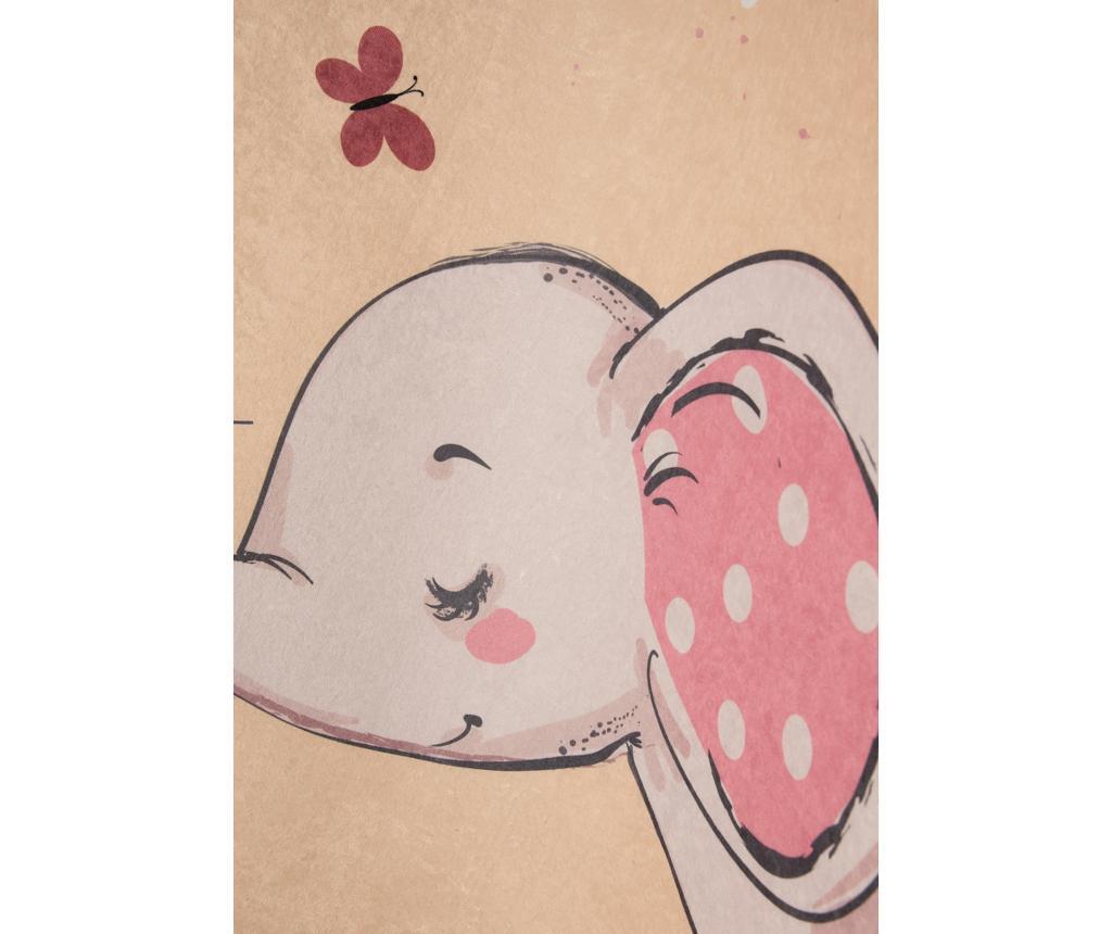 Covor Elephant Baloon Brown 100x160 cm