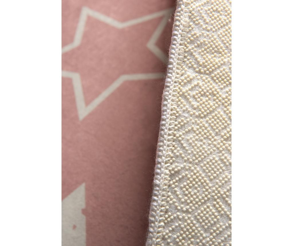 Stars Pink Szőnyeg 140x190 cm