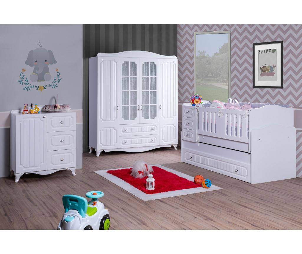 Otroška postelja 3 v 1 Baby Grow Lines