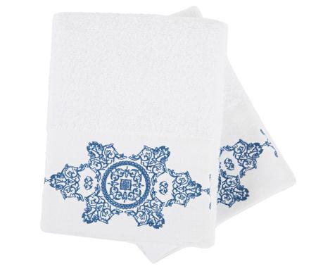 Sada 2 ručníků Lara Roses 50x90 cm