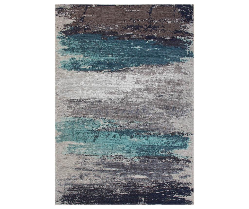 Tepih Brushed Grey Aqua 80x300 cm