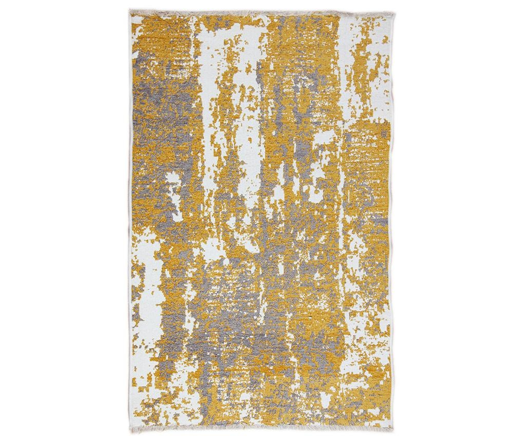Preproga Spread Yellow Grey 75x200 cm