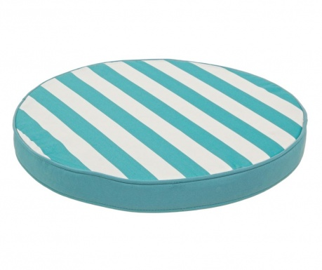 Jastuk za sjedalo Stripe Turquoise 40 cm