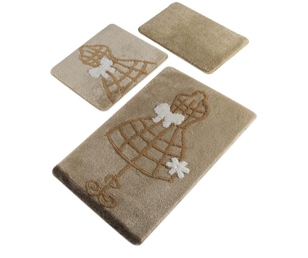 Dress Maker 3 db Fürdőszobai szőnyeg
