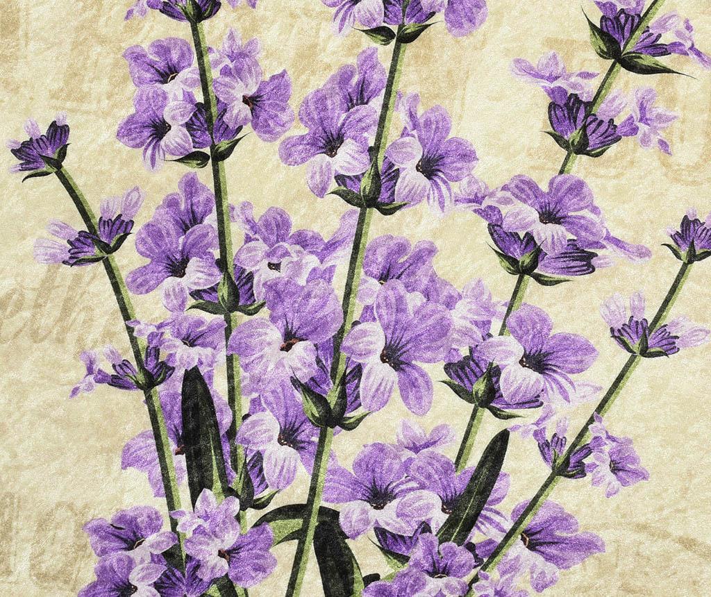 Covoras de baie Lavender 100 cm