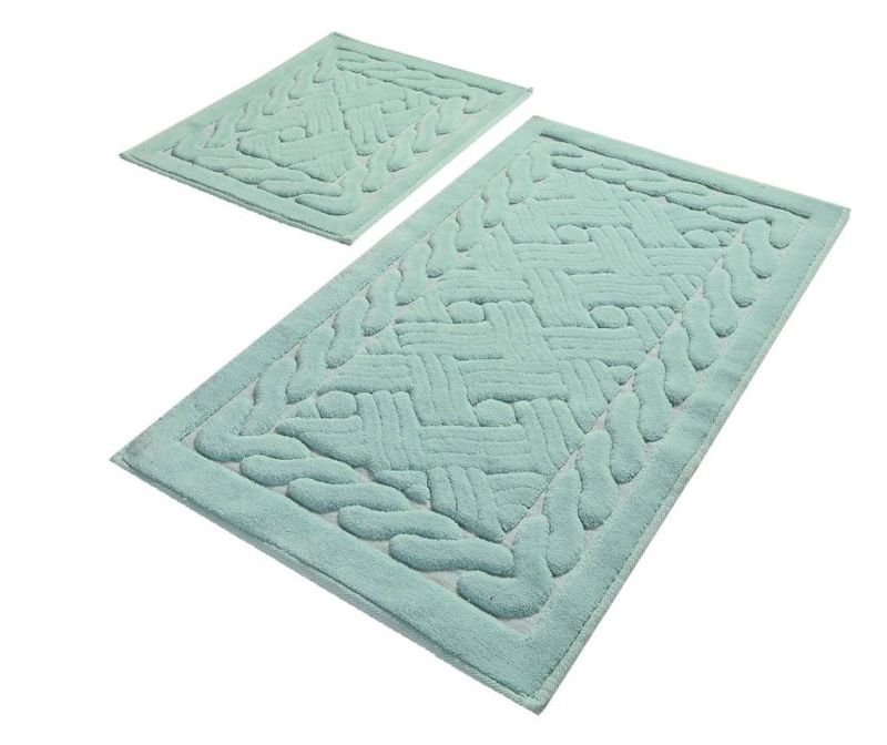 Braid Blue 2 db Fürdőszobai szőnyeg